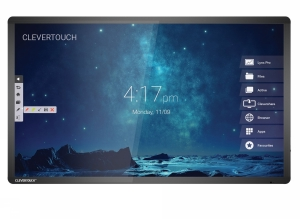 "Clevertouch PRO - 75"" - 20 p touch - m Andro"