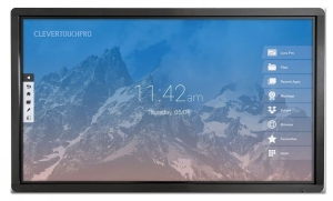 "Clevertouch PRO 86"" - 20 p  - m Android - Dual slot - 4K"