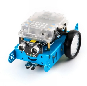 mBot STEM Blue - Utbildnings Robot Kit för barn, Bluetooth
