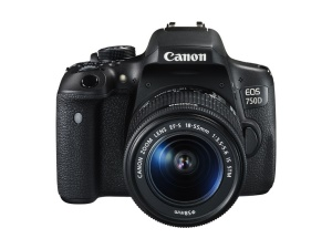 Canon EOS 750D med EF-S 18-55/3,5-5,6 IS STM