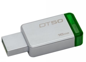 Kingston USB minne 16GB, 30MB/s USB3,1