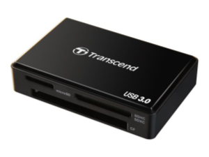 Minneskortläsare TS-RDF8K All-In-1 USB 3.0/3.1